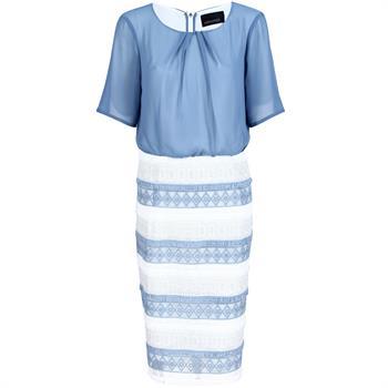 Apanage jurk 400900-43940 in het Blauw
