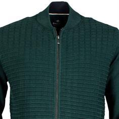 Baileys gebreid vest Regular Fit 922087 in het Groen