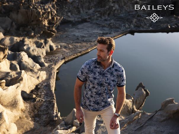 Baileys polo's 10-5272 in het Beige