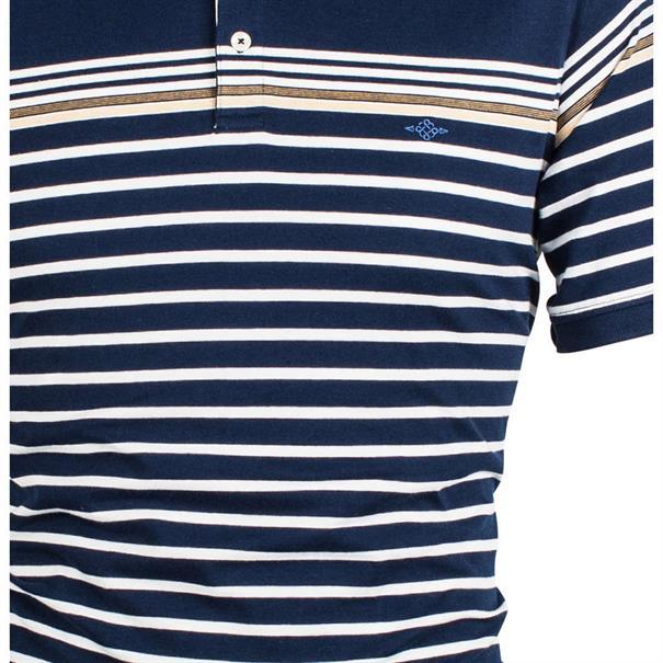 Baileys polo's 91-5204 in het Donker Blauw