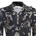Batida blouse 7970 in het Zwart / Beige