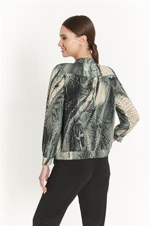 Batida blouse 9204 in het Petrol