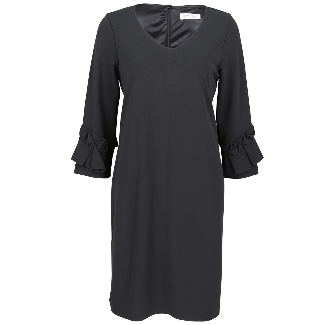 Batida jurk 7358 in het Zwart