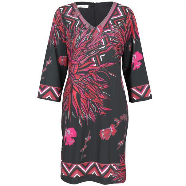 Batida jurk 7432 in het Rood