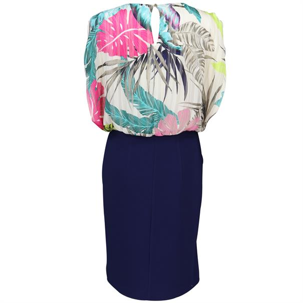 Batida jurk 7704 in het Multicolor