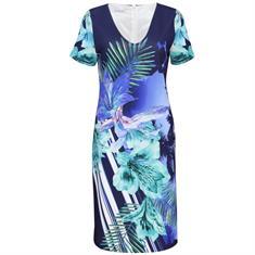 Batida jurk 7727 in het Blauw