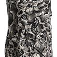 Batida jurk 7927 in het Zwart / Beige