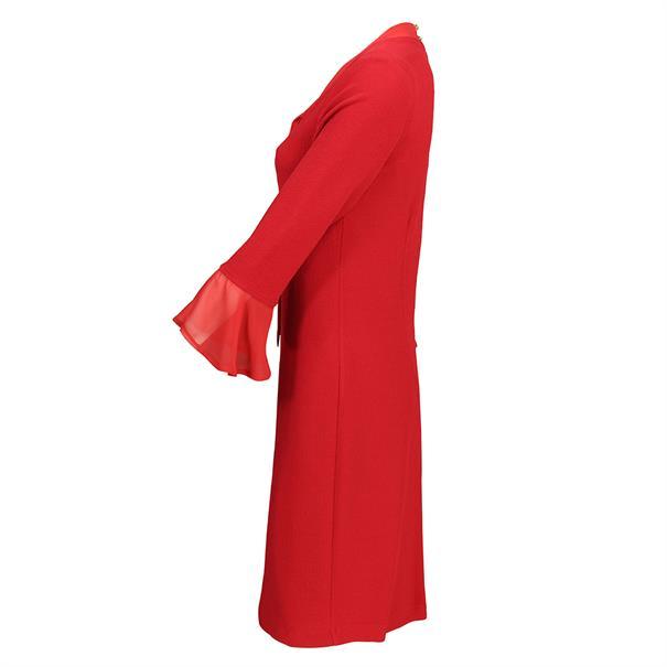 Batida jurk 8105 in het Rood