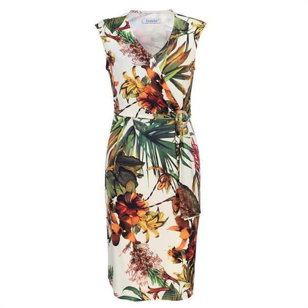 Batida jurk 8279 in het Wit/Groen