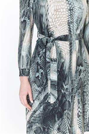 Batida jurk 9200 in het Petrol