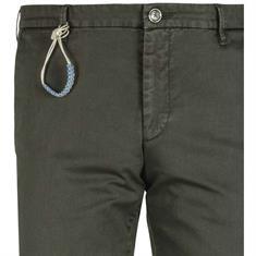 Benvenuto 5-pocket Slim Fit 23742696350 in het Olijf groen