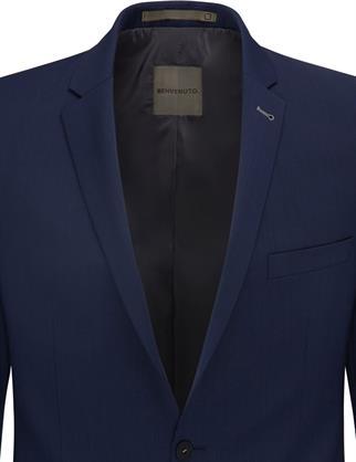 Benvenuto business colbert Super Slim Fit 20848615660 in het Nacht Blauw