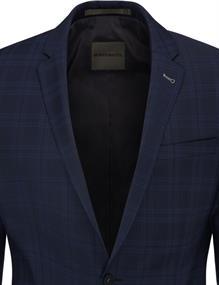 Benvenuto business colbert Super Slim Fit 20895615660 in het Hemels Blauw