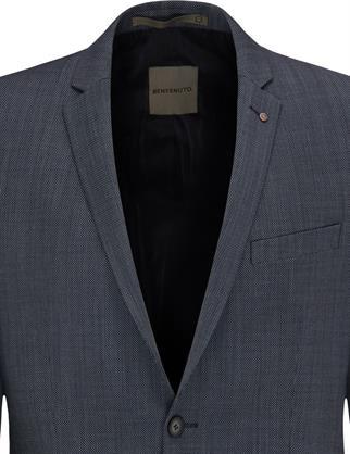 Benvenuto business colbert Super Slim Fit 20929616240 in het Blauw