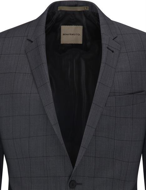 Benvenuto business colbert Super Slim Fit 20949615660 in het Antraciet
