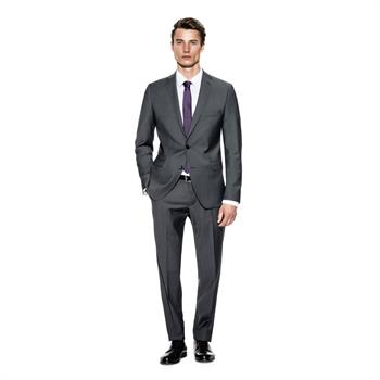 Benvenuto business pantalon 20776612840 in het Grijs