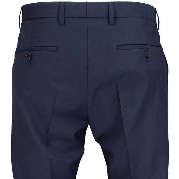 Benvenuto business pantalon Slim Fit 20657612840 in het Donker Blauw