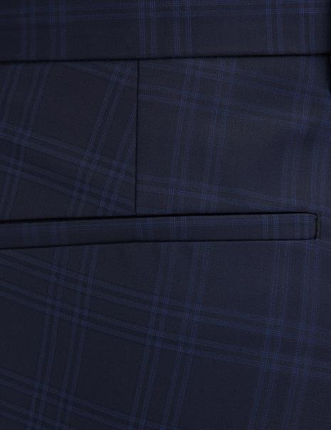 Benvenuto business pantalon Super Slim Fit 20895615220 in het Blauw