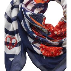 Betty Barclay accessoire 4016-2266 in het Wit/Blauw