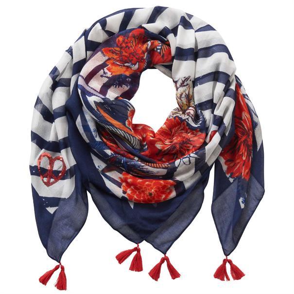 Betty Barclay accessoire 4016-2266 in het Wit/Blauw
