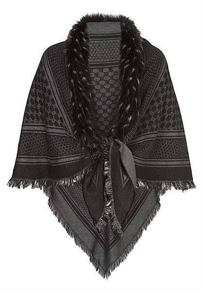 Betty Barclay accessoire 4018-9269 in het Zwart / Grijs