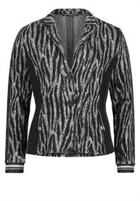 Betty Barclay blazer 5026-0598 in het Zwart / Wit