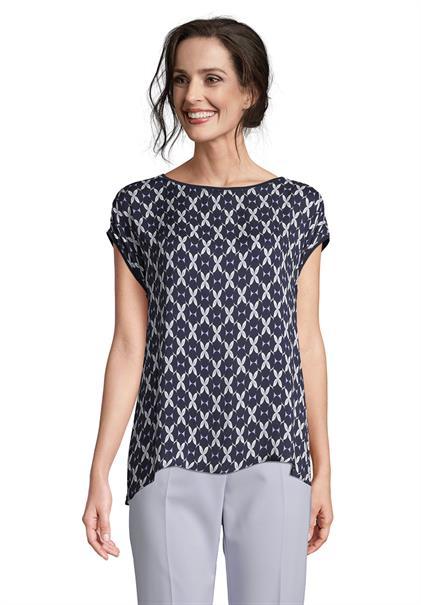 Betty Barclay blouse 2706-2090 in het Donker Blauw