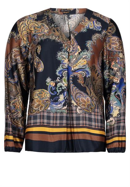 Betty Barclay blouse 6031-8153 in het Marine