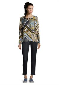 Betty Barclay blouse 8011-1050 in het Wit/Blauw