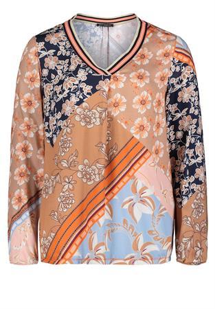 Betty Barclay blouse 8019-1051 in het Multicolor