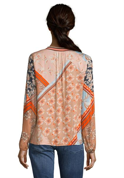 Betty Barclay blouse 8019-1051 in het Multicolor