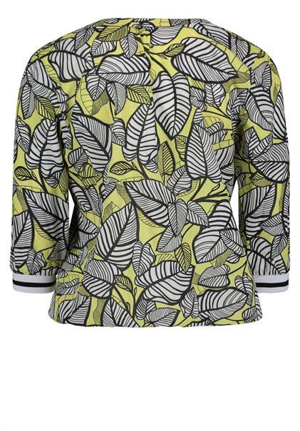 Betty Barclay blouse 8081-1467 in het Zwart / Beige