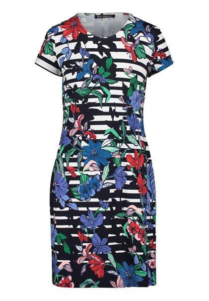 Betty Barclay jurk 1034-1435 in het Donker Blauw