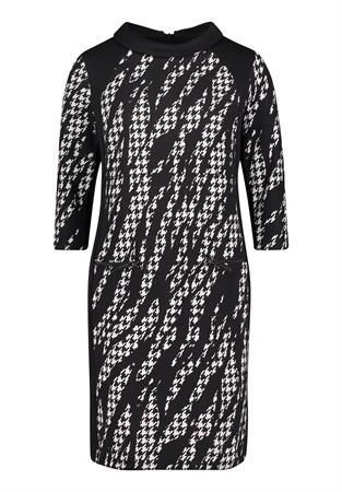 Betty Barclay jurk 1621-2654 in het Zwart / Wit