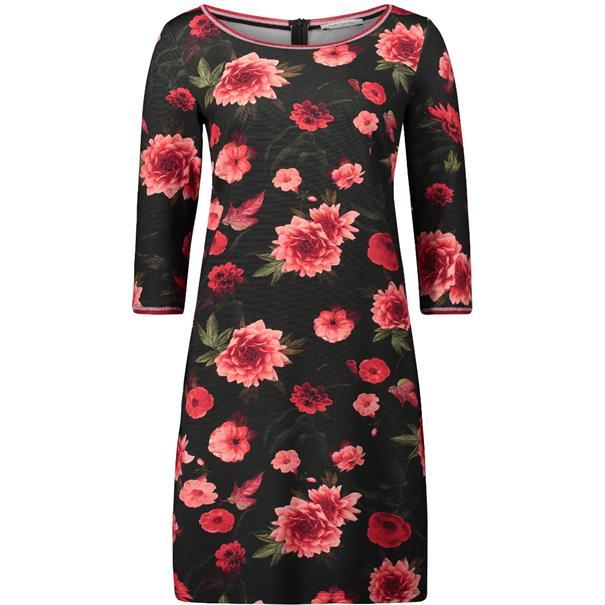 Betty Barclay jurk 6414-8144 in het Zwart / Rood
