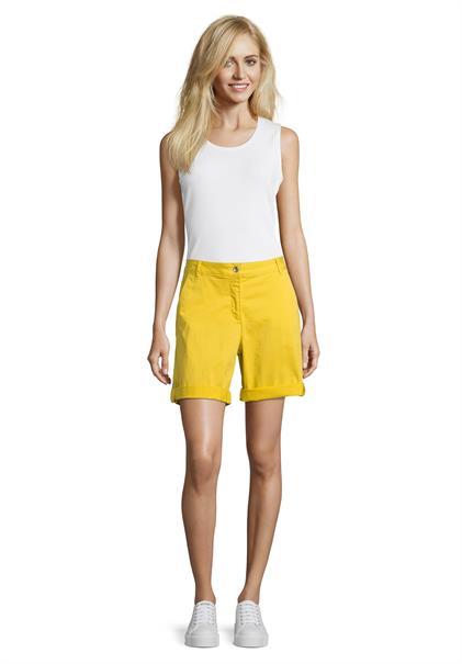 Betty Barclay shorts 60451200 in het Geel