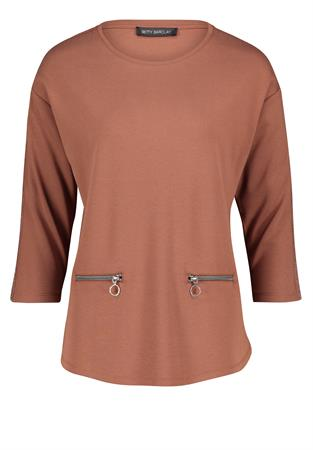 Betty Barclay sweater 2038-2551 in het Camel