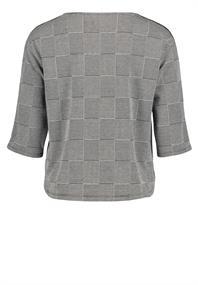 Betty Barclay sweater 4694-0603 in het Zwart / Wit