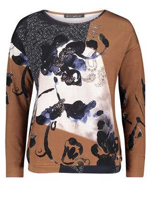 Betty Barclay t-shirts 2135-2778 in het Camel
