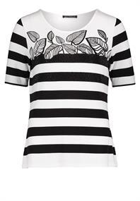 Betty Barclay t-shirts 2148-1477 in het Wit/Zwart