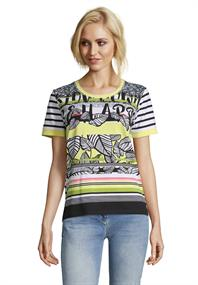 Betty Barclay t-shirts 2193-1518 in het Wit/Zwart