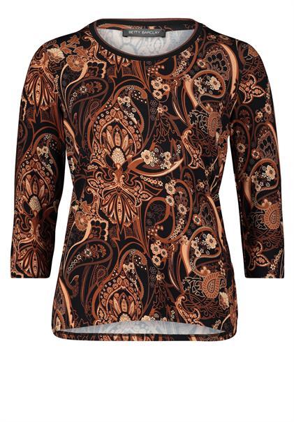 Betty Barclay t-shirts 22721603 in het Bruin
