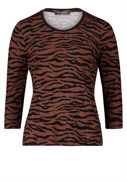 Betty Barclay t-shirts 22731604 in het Bruin