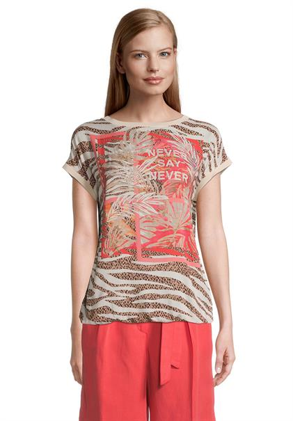 Betty Barclay t-shirts 2817-2269 in het Wit