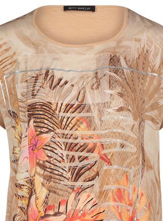 Betty Barclay t-shirts 2818-2270 in het Camel