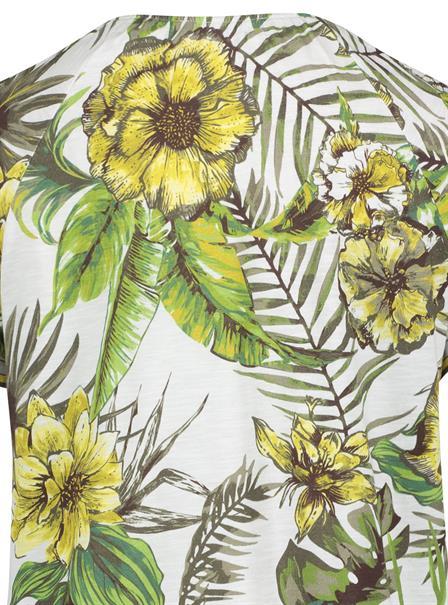 Betty Barclay t-shirts 2829-2339 in het Wit/Groen
