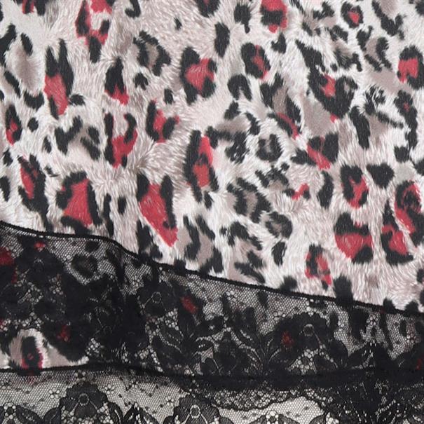 blouse w68-371 in het Licht Bruin