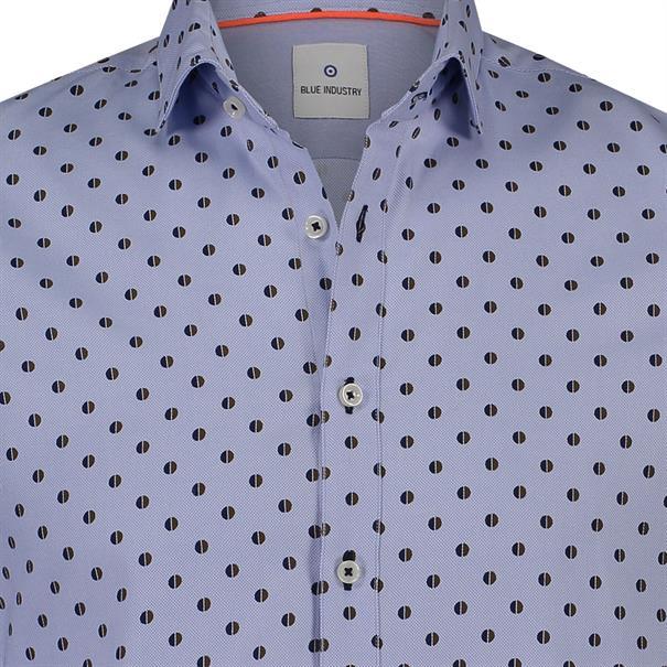 Blue Industry business overhemd 1037-82 in het Licht Blauw