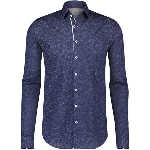 Blue Industry business overhemd 1065-82 in het Marine