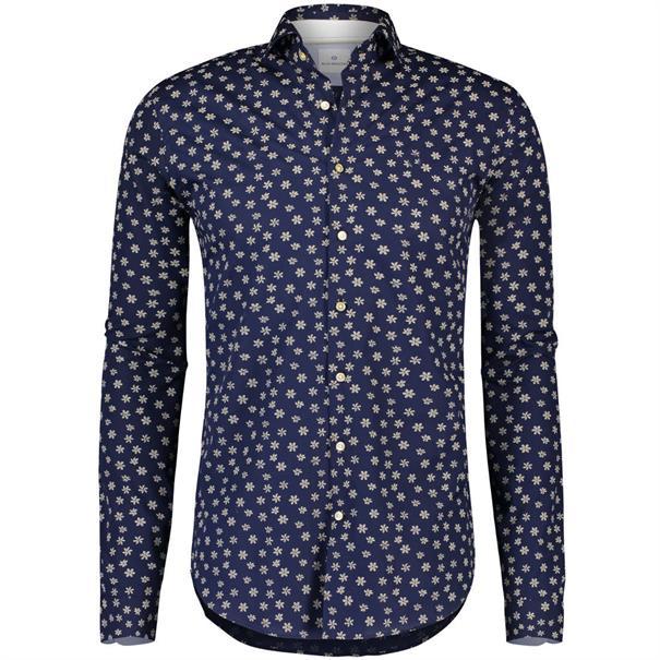 Blue Industry business overhemd Slim Fit 1114-91 in het Donker Blauw